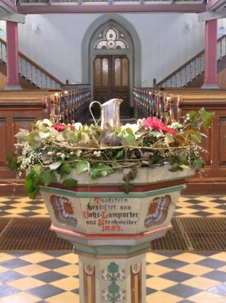 Taufe Evangelische Kirchengemeinde Böhringen